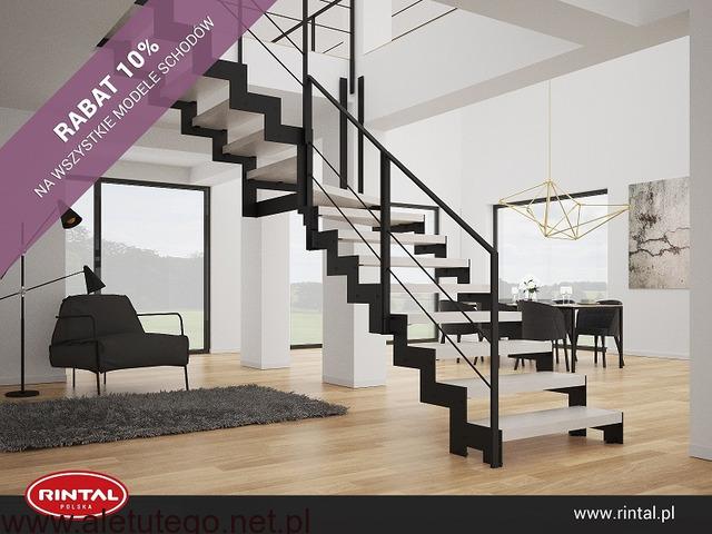Schody Rintal rabat 10% na wszystkie modele schodów